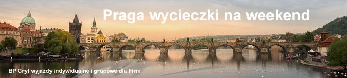 Wycieczka do Pragi - propozycje - baner